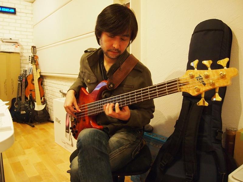 岡田治郎さん。