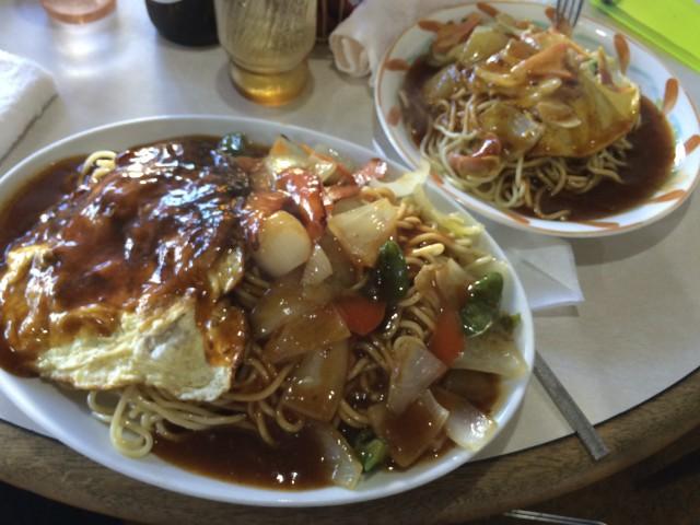 名古屋飯のあんかけスパ。デゴイチ。