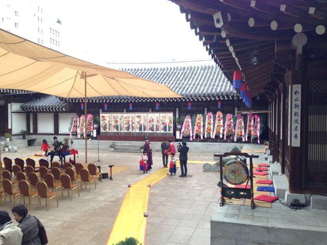 本番の会場は歴史的建造物。