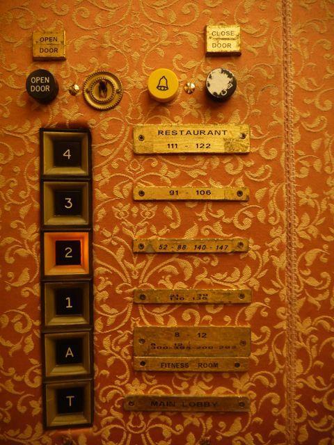 素敵すぎて持って帰りたかったエレベーター。